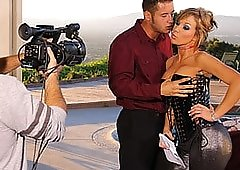 Nikki Sexx Knows How To Get Danny's Attention