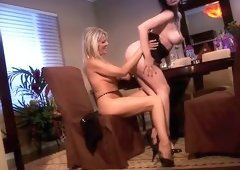 Anastacia Pierce and Bridgett Lee lesbian action