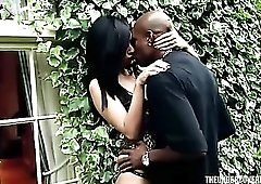 Cheating with a black guy turns this married girl on