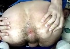 Canadian Handsome Boy Cums On His Chest, Super Hot Tight Ass