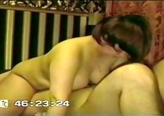 Me and my wife pleasing each other in 69 position in the night