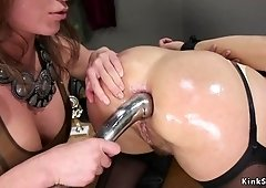 Anal insertion preview