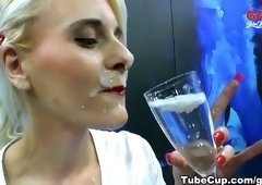 Sperm shot porn video featuring Nathalie Hardcore and Ashlee Cox