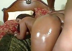 Maya Kiss black giant butt