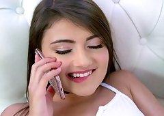 Romi Rain is so hot that she seduced Adria Rae and her boyfriend