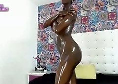 squirt and fat cock dildo with amazing body ep3