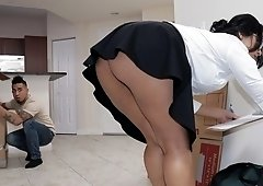 Apologise, but, fucked in a tight skirt simply