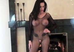 Playgirl enjoys humiliating and torturing villein