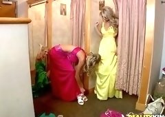 German porn video featuring Jana Jordan, Sammie Rhodes and Franziska Facella