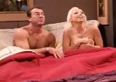 Nikki Hunter has her husband banging her twat and cumming in her mouth