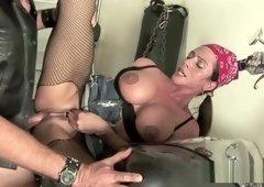 Biker sex with Ariella Ferrera