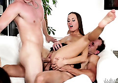 Gang Bang-Out With 3 Super-Fucking-Hot Chicks