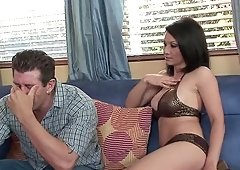 MILF seduces a guy for some shagging