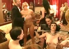 Group sex porn video featuring Mellanie Monroe, Cherry Torn and Bella Rossi