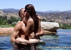 Crazy pornstar Karlie Montana in Fabulous Outdoor, Big Tits xxx clip
