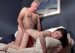 Amazing sex scenes between Mia Evans and grandpa