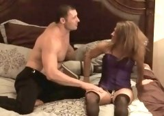 Young swingers banging in shower