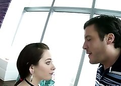 Hot minx Rylee Renee is all kinds of awesome and she gives a great blowjob