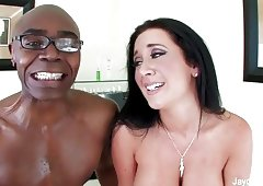 Jayden takes on Sean's big black cock