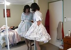 Petticoats frilly vintage sissy