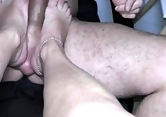 footjob feet trampling 3