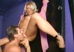 Horny pornstar Dru Berrymore in amazing cunnilingus, big dick adult clip