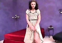 Noname Jane aka Violet Blue - Tights Taunt and Getting Off - PornGem