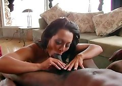 Horny Sandra Romain worships each second of being fucked by a BBC