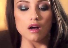 Divine small titted Celeste Star Featuring Masturbation porn video