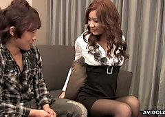 Dude picks up and fucks wet pussy of naughty Asian hottie Erena