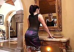 Passionate lesbian video featuring seductive hottie Sheena Ryder