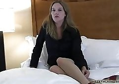 I want to you to cum hard for me JOI