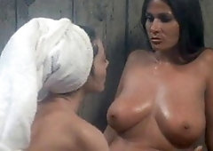 Ass the dick sucking in sauna and activity licking apologise, but, opinion