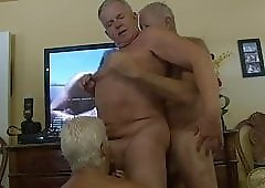Hot Grandpa ''The General'' Group Sex