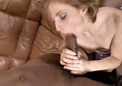 dick craving model wants to feel a black cock up her vagina