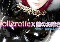 Dollerotic latex girl Blowjobs