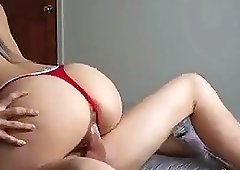College Couple has sex some good amateur sex on webcam