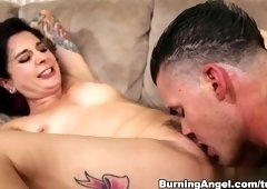 Bonny breasty emo Joanna Angel ass fucked