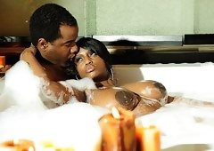 Ebony Couple Into Some Passionate Love Making