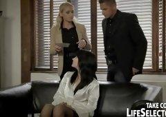 POV porn video featuring Kathia Nobili and Leda