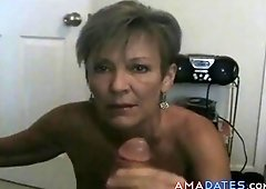 Hot milf cougar diddles and bangs