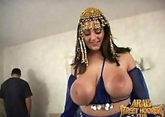 BBW Arab MILF Dolly Arafat Gets Fucked and Jizzed On Her Massive Jugs
