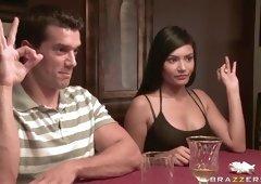 Ramon cracks open Shazia Sahari's vaginal flower