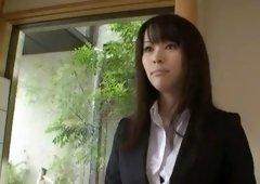 Crazy Japanese slut Kyouko Maki, Kyoko Maki in Exotic Blowjob/Fera, Stockings/Pansuto JAV movie