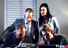 Aletta Ocean, Jai James In Fly Girls Final Payload Scene 3