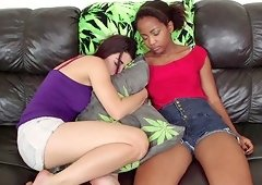 Raven Rockette is interested in Ivy Sherwood's tight pussy