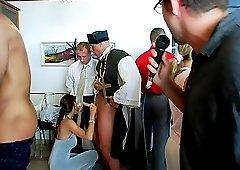 Sarah Twain,Tatiana Milovani and Virus Vellons making a wedding better