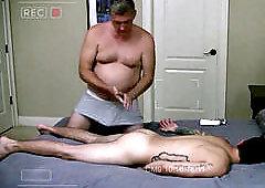 Amateur sissy massage palor daddy