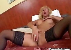 Busty lady Victoria moans like whore while getting pussy ravaged by stiff cock