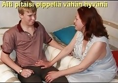Slideshow with Finnish Captions: Mom Marta 2